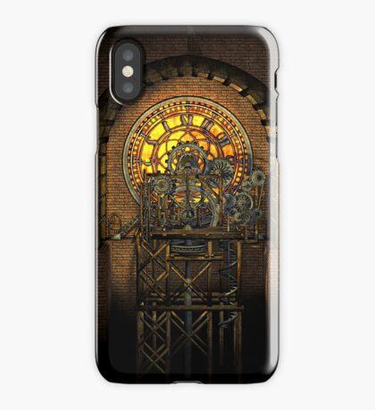Inner Workings (Vintage Steampunk Clock) iPhone Case