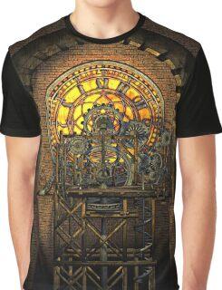 Inner Workings (Vintage Steampunk Clock) Graphic T-Shirt