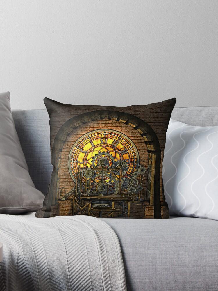 Inner Workings (Vintage Steampunk Clock) by Steve Crompton