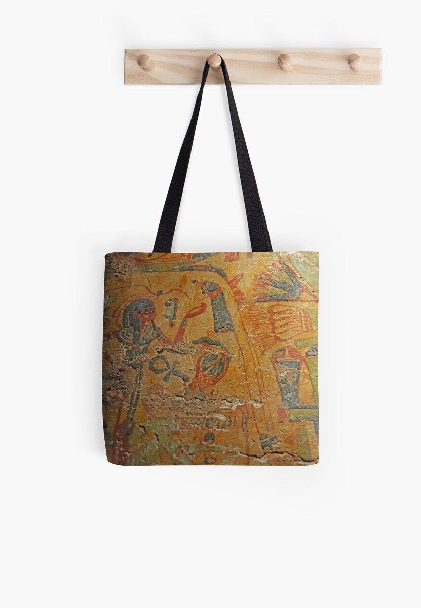 Ancient Egypt Tote Bags By Herbert Shin Redbubble