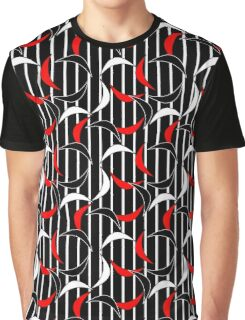 Abstract Chains Graphic T-Shirt