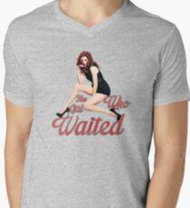 The Girl Who Waited. Mens V-Neck T-Shirt
