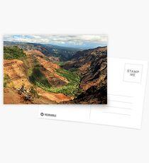 Waimea Canyon From The West Postcards