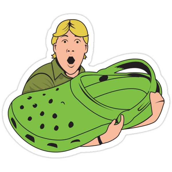Quot Crikey Quot Stickers By Benclark Redbubble