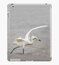 Reddish Egret Wading in Gulf iPad Case/Skin