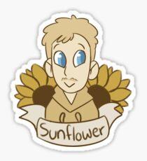 "Marble Hornets: Brian Thomas ""Sunflower"" Sticker"
