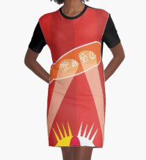 ZEPPELIN OVER THE O2 Graphic T-Shirt Dress