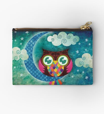 My Crescent Owl Zipper Pouch