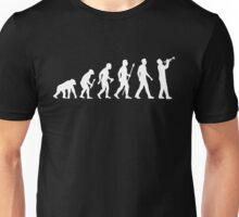 Trumpet Evolution Of Man Unisex T-Shirt