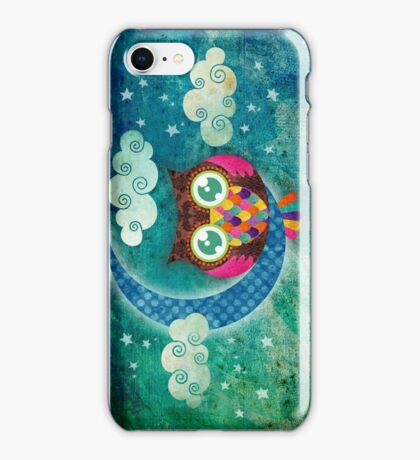 My Crescent Owl iPhone Case/Skin