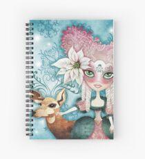Noelle's Winter Magic Spiral Notebook