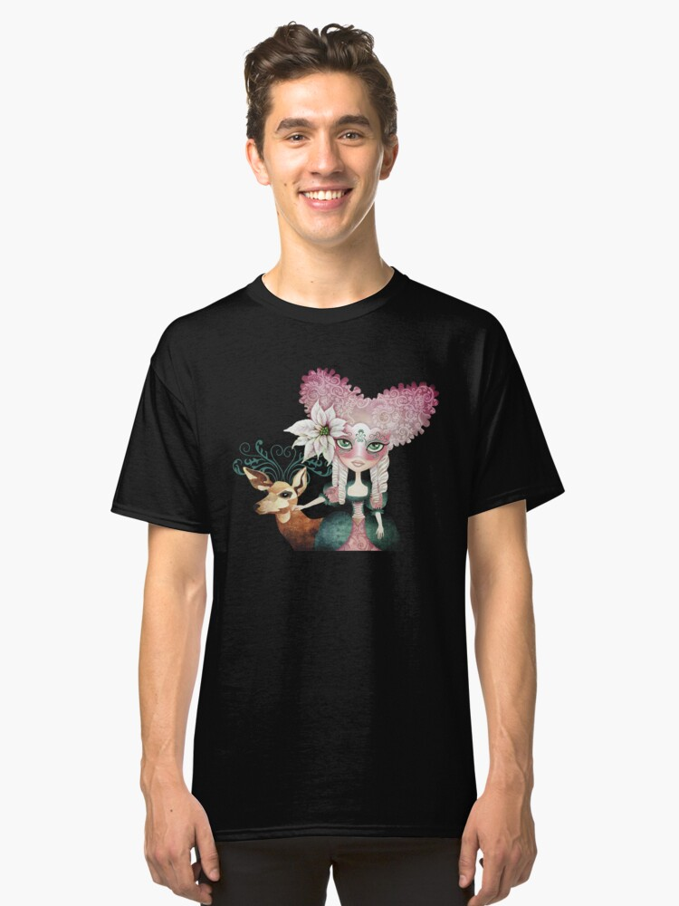 Noelle's Winter Magic Classic T-Shirt Front