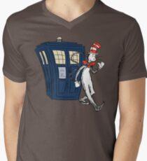 Dr Suess Who Men's V-Neck T-Shirt