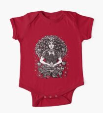 Divine Mother Gea Tree / BW One Piece - Short Sleeve