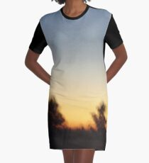 Happy Accident Graphic T-Shirt Dress