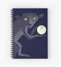 Aye Aye Steals the Moon Spiral Notebook
