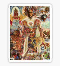 Bob Marley by Deo Sticker
