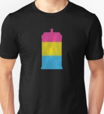 Pansexual Pride Police Box T-Shirt