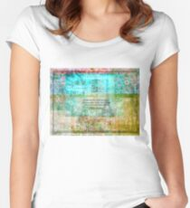 Witty Jane Austen travel quote Women's Fitted Scoop T-Shirt