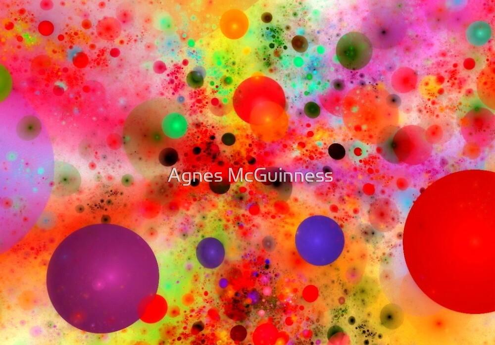 Happy bubbles by Agnes McGuinness