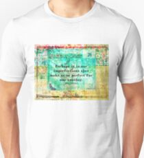 Jane Austen witty LOVE quote  T-Shirt
