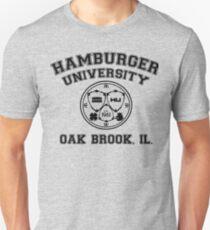 Hamburger University in Black T-Shirt