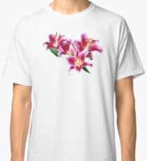 Stargazer Lily Heart Classic T-Shirt