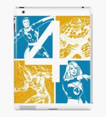The Fantastic Four • 4 Squares iPad Case/Skin