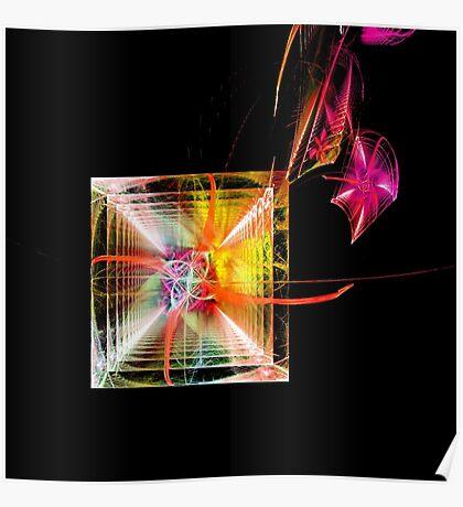 Rainbow Geometry Poster