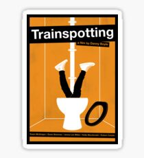 Trainspotting film poster Sticker