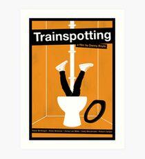 Trainspotting film poster Art Print