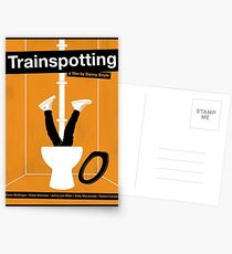 Trainspotting film poster Postcards