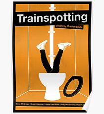 Trainspotting film poster Poster