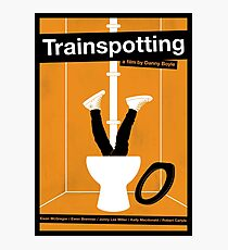 Trainspotting film poster Photographic Print