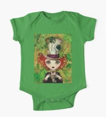 Lady Hatter (w/background) Kids Clothes