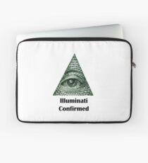 Illuminati Confirmed Laptop Sleeve