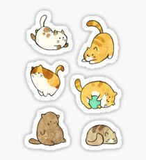 Catbeans Sticker