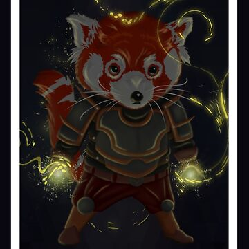 Magical Red Panda by MrZafra