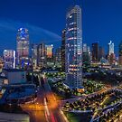 Downtown Dallas at Night (Arts District View) by josephhaubert