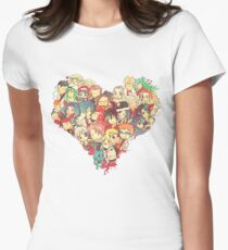 Fairies in Love Women's Fitted T-Shirt