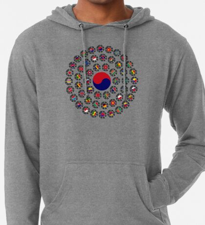 We Are Korea Multinational Patriot Flag Collective 1.0 Lightweight Hoodie