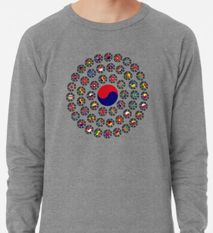 We Are Korea Multinational Patriot Flag Collective 1.0 Lightweight Sweatshirt