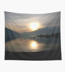 Lago di Como / Lake of Como (Italy) Wall Tapestry