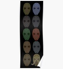 Mask Collection Poster