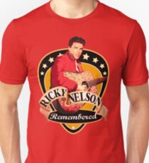 Remembered Ricky Nelson Unisex T-Shirt