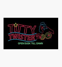 Titty Twister - Bar Logo Photographic Print