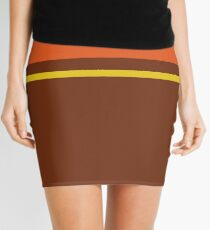 Retro liner Mini Skirt