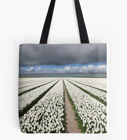 Tulips before the storm Tote Bag