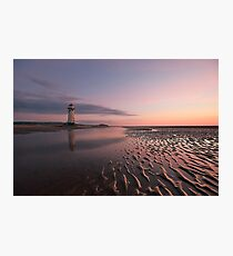 Talacre Lighthouse Photographic Print