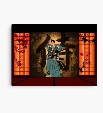 Japanese style Canvas Print